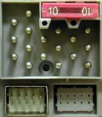 электрическая схема мерседес 124