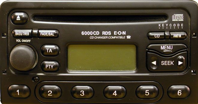 автомагнитола форд 6000 cd инструкция скачать
