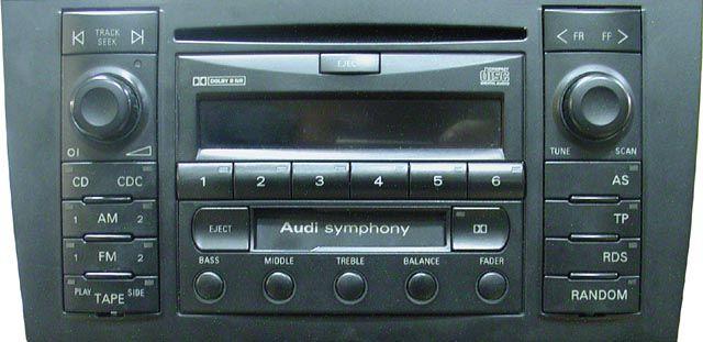 audi symphony фото