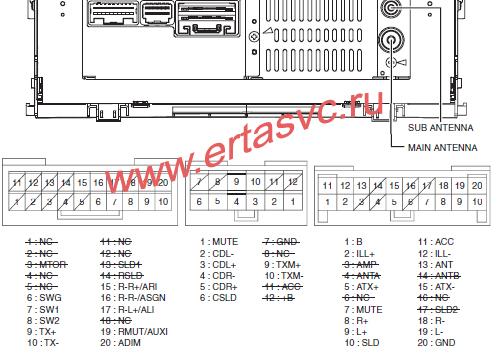 Toyota part 86120-60800