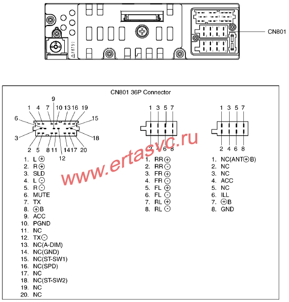 Mодель 86120-0H010, REF No CQ-